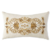JCPenney Home™ Sofia Beaded Scroll Decorative Pillow