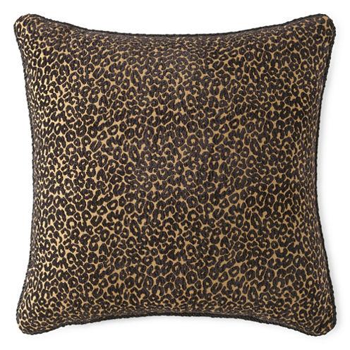 JCPenney Home™ Chenille Leopard Decorative Pillow
