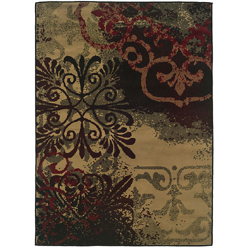 Covington Home Filigrene Rectangular Rug