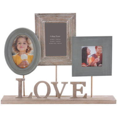 jcpenney.com | Burnes of Boston® Heartfelt Love Pedestal 3-Opening Collage Picture Frame