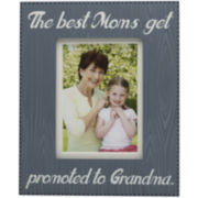 Melannco® The Best Moms Get Promoted to Grandmas Picture Frame