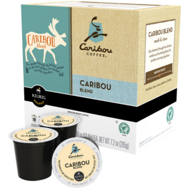jcpenney.com | Keurig® K-Cup® Caribou Coffee® 108-ct. Caribou Blend Coffee Pack