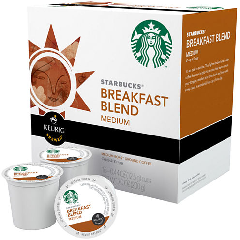Keurig® K-Cup® Starbucks® 96-ct. Breakfast Blend Medium Roast Coffee Pack