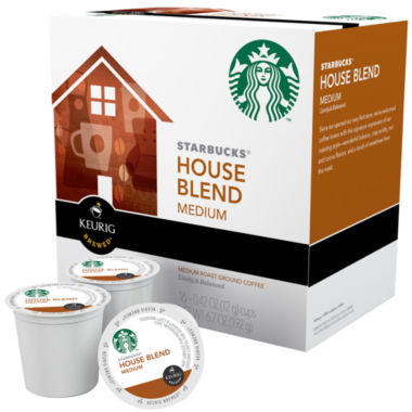 jcpenney.com | Keurig® K-Cup® Starbucks® 96-ct. House Blend Medium Roast Coffee Pack