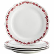 BonJour® Yuletide Set of 4 Dinner Plates