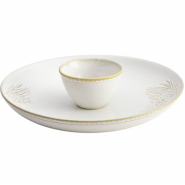 jcpenney.com | BonJour® Sierra Pine 2-pc. Chip and Dip Set