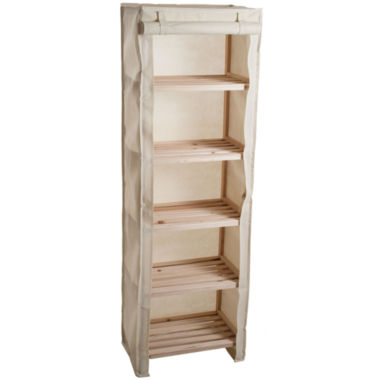 jcpenney.com | Lavish Home™ 5-Tier Storage Shelf with Removable Cover