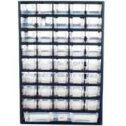 Stalwart™ 41-Compartment Hardware Storage Box