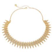 Monet® Crystal and Gold-Tone Drama Necklace