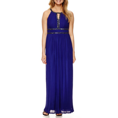 jcpenney.com | Signature by Sangria Sleeveless Embellished Formal Gown - Petite