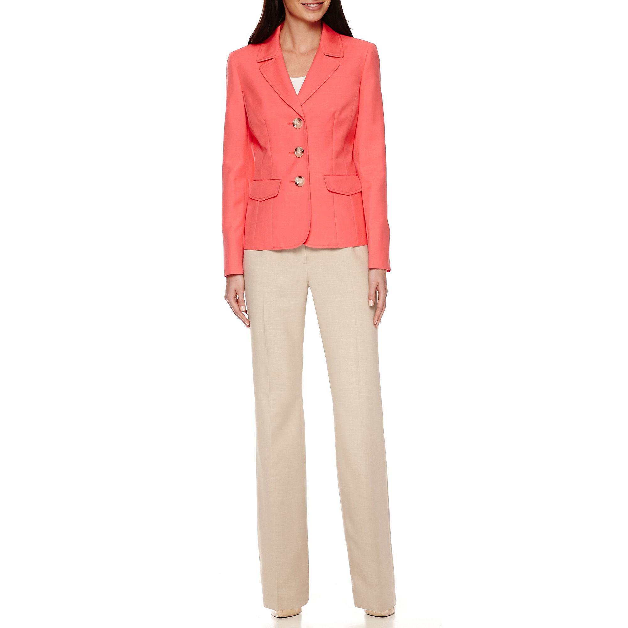 Le Suit Jacket and Pant Suit Set plus size,  plus size fashion plus size appare