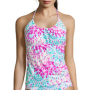 Arizona Light As A Feather Tankini Swim Top - Juniors