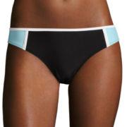 Arizona® Colorblock Hipster Swim Bottoms