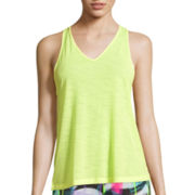 City Streets® V-Neck T-Back Tank Top