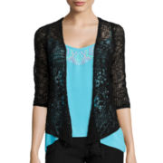 Arizona 3/4-Sleeve Knit Cardigan