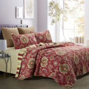 Castelli Reversible 3-pc. Quilt Set