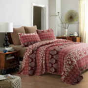 Osborne Hand-Pieced Reversible 3-pc. Quilt Set