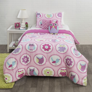 jcpenney.com | JCPenney Home™ Owl Garden Comforter Set & Accessories