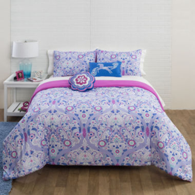 jcpenney.com | JCPenney Home™ Floral Trellis Comforter Set & Accessories