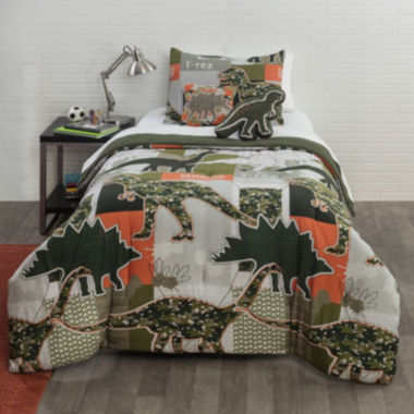 jcpenney home™ dinosaur comforter set & accessories - jcpenney