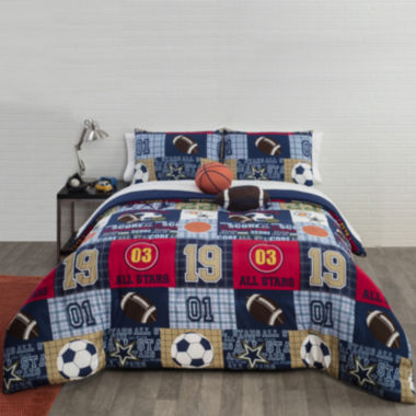 jcpenney.com | JCPenney Home™ All Star Comforter Set & Accessories