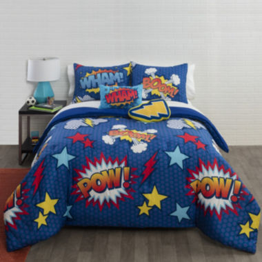 jcpenney.com | JCPenney Home™ Comic Comforter Set & Accessories