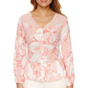 Worthington® Long-Sleeve Blouse
