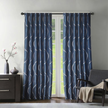 jcpenney.com | Marcel Embroidery Taffeta Rod-Pocket Curtain Panel