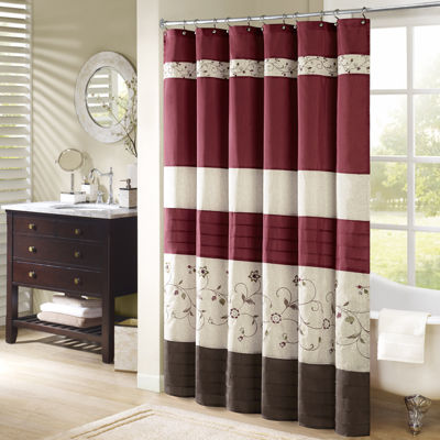 Madison Park Belle Embroidered Shower Curtain - Shower Curtains & Rods, Extra Long Shower Curtains - JCPenney