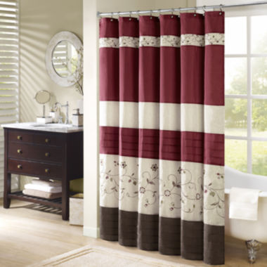 jcpenney.com | Madison Park Belle Embroidered Shower Curtain
