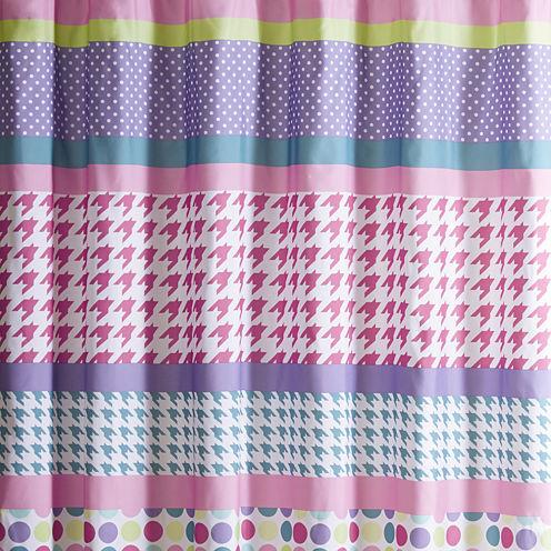 Mi Zone Jenny Microfiber Shower Curtain