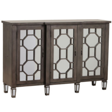jcpenney.com | Bombay Hex Fret Mirrored Console Table