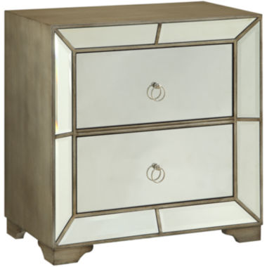 jcpenney.com | Bombay Cowen Mirrored 2-Drawer Chest