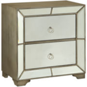 Bombay Cowen Mirrored 2-Drawer Chest