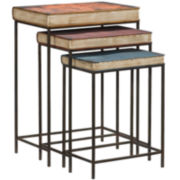 Bombay 3-pc. Book Nesting Tables Set