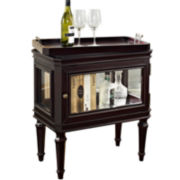 Bombay Briarcliff Curio Table with Removable Tray