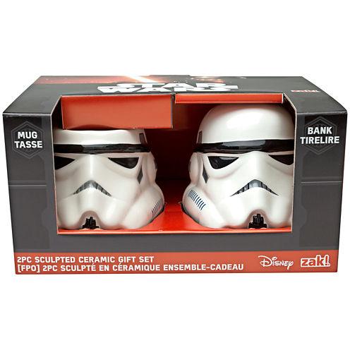 Disney Star Wars® Classic Stormtrooper Sculpted Bank and Mug Set