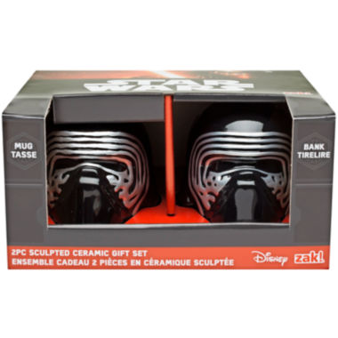 jcpenney.com | Disney Star Wars® Kylo Ren Sculpted Bank and Mug Set