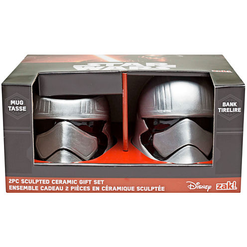 Disney Star Wars® Captain Phasma Sculpted Bank and Mug Set
