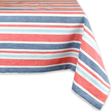 jcpenney.com | Design Imports Patriotic Stripe Cotton Tablecloth