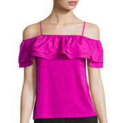 Worthington® Off-The-Shoulder Ruffle Top