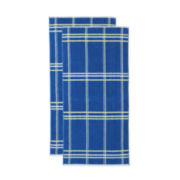 Outdoor Oasis™ Set of 2 Plaid Beach Towels