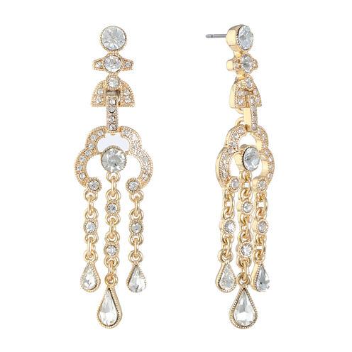 Monet Jewelry Chandelier Earrings