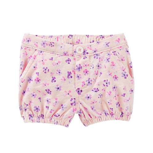 Oshkosh Pull-On Shorts Baby Girls
