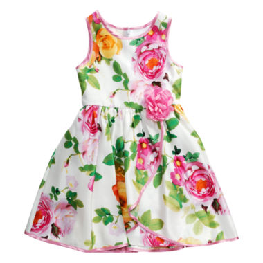 jcpenney.com | Young Land Sleeveless Party Dress - Preschool Girls
