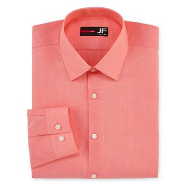 J ferrar slim fit long sleeve dress shirt jcpenney for J ferrar military shirt