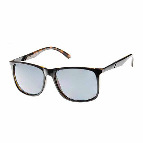 St. John's Bay Rectangular UV Protection Sunglasses-Mens