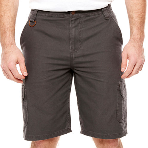 Big Mac Relaxed Fit Canvas Cargo Shorts