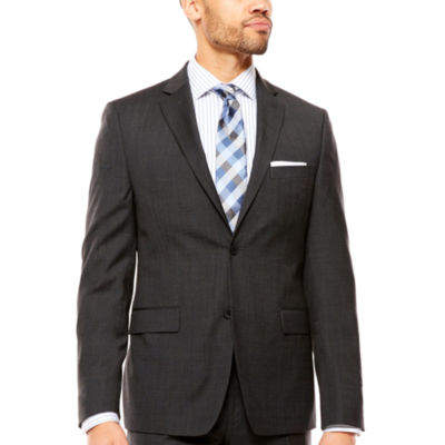 Collection by Michael Strahan  Pattern Slim Fit Suit Jacket