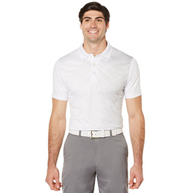 Pga tour short sleeve argyle polo shirt jcpenney for Jcpenney ladies polo shirts